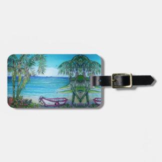 Etiqueta De Bagagem Ilha de Fiji - Tag da bagagem