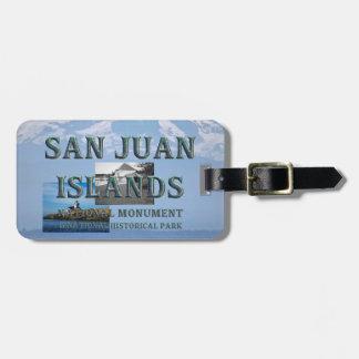 Etiqueta De Bagagem Ilhas de ABH San Juan