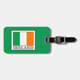 Etiqueta De Bagagem Ireland