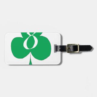 Etiqueta De Bagagem Irlandês afortunado 8 dos clubes, fernandes tony