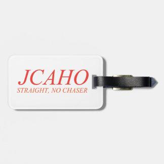 Etiqueta De Bagagem JCAHO: Hetero, nenhum caçador