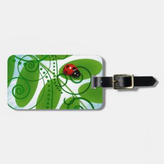 Etiqueta De Bagagem joaninha - ladybird