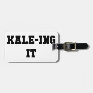 Etiqueta De Bagagem Kaleing ele