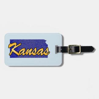 Etiqueta De Bagagem Kansas