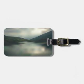 Etiqueta De Bagagem Lago nas montanhas