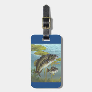 Etiqueta De Bagagem Largemouth Bass