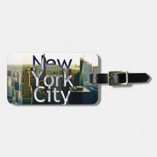 Etiqueta De Bagagem Lembrança da Nova Iorque