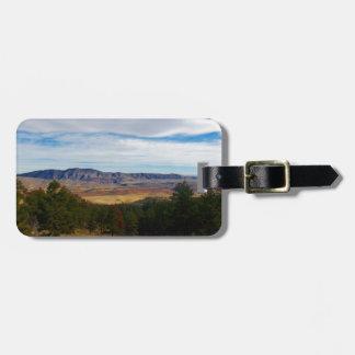Etiqueta De Bagagem Lince Ridge Colorado