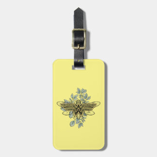 Etiqueta De Bagagem Logotipo da abelha de rainha da mulher maravilha