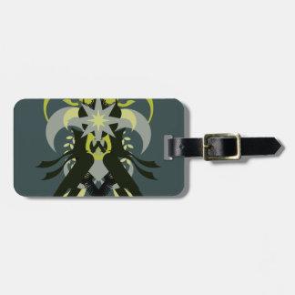 Etiqueta De Bagagem Loki da abstracção sete