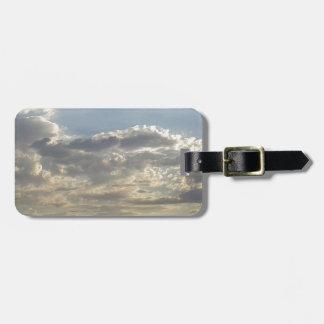 Etiqueta De Bagagem Lotes das nuvens