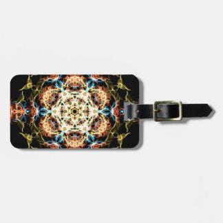 Etiqueta De Bagagem Mandala da iluminação