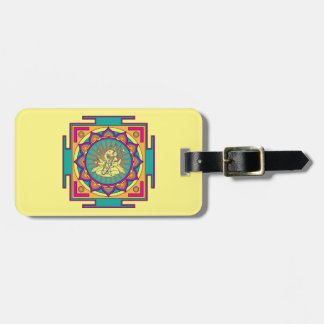 Etiqueta De Bagagem Mandala de Ganesha