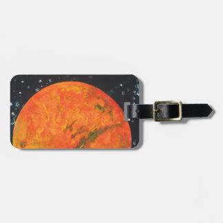 Etiqueta De Bagagem Marte