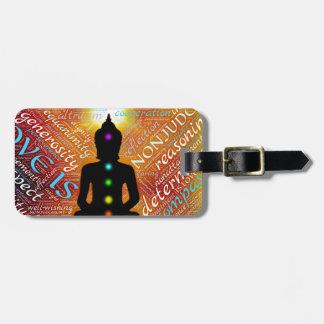 Etiqueta De Bagagem Meditação