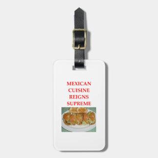 ETIQUETA DE BAGAGEM MEXICANO