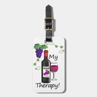 Etiqueta De Bagagem Minha terapia