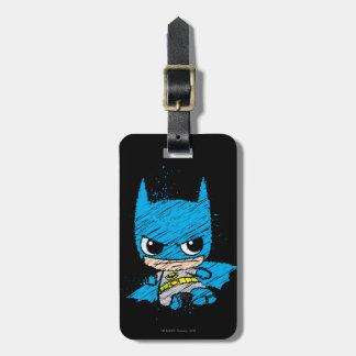 Etiqueta De Bagagem Mini esboço de Batman