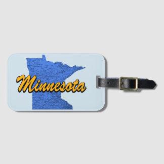 Etiqueta De Bagagem Minnesota