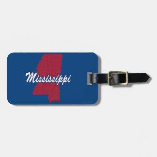 Etiqueta De Bagagem Mississippi