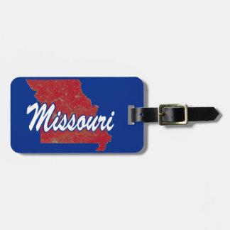 Etiqueta De Bagagem Missouri
