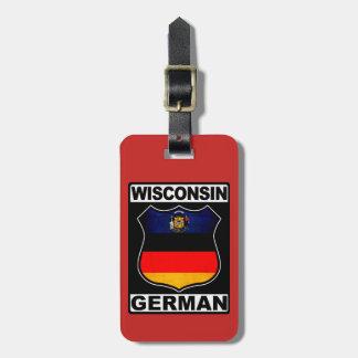 Etiqueta De Bagagem Modelo americano alemão do Tag da bagagem de