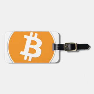 Etiqueta De Bagagem Moeda cripto de Bitcoin - para o Bitcoin ventila!