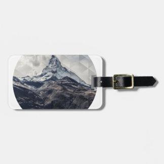 Etiqueta De Bagagem Montanha