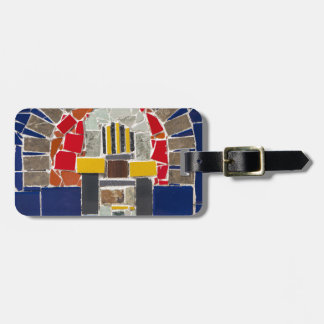 Etiqueta De Bagagem Mosaico