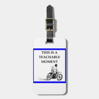 Etiqueta De Bagagem moto
