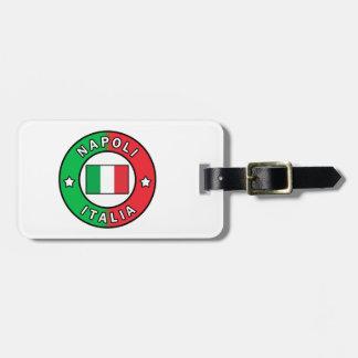 Etiqueta De Bagagem Napoli Italia