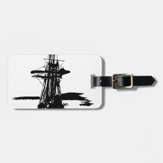Etiqueta De Bagagem navio de pirata