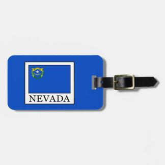 Etiqueta De Bagagem Nevada