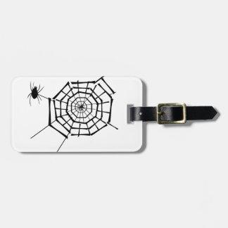Etiqueta De Bagagem ninho da aranha