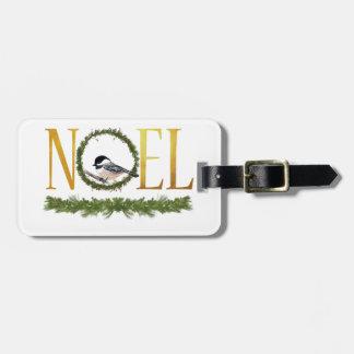 Etiqueta De Bagagem Noel