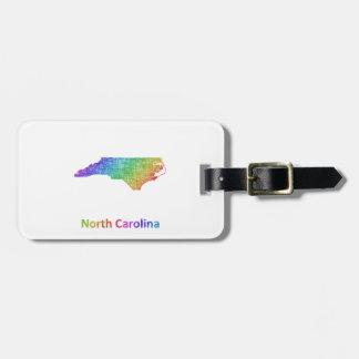 Etiqueta De Bagagem North Carolina