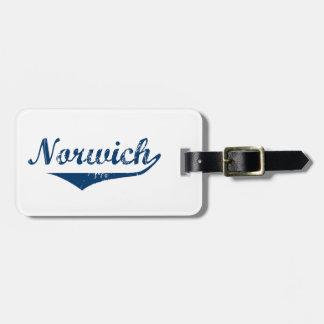 Etiqueta De Bagagem Norwich