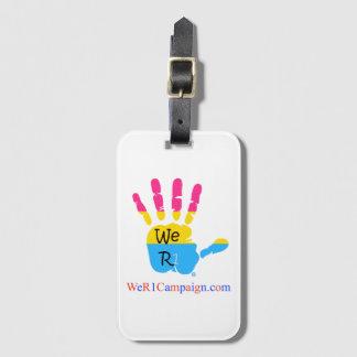 Etiqueta De Bagagem Nós Tag Pansexual da bagagem de mão R1