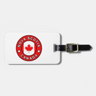 Etiqueta De Bagagem Nova Escócia Canadá