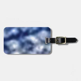 Etiqueta De Bagagem Nuvens azuis