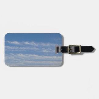 Etiqueta De Bagagem Nuvens misturadas