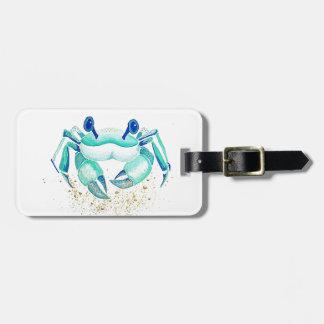 Etiqueta De Bagagem O caranguejo de Netuno