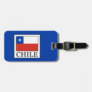 Etiqueta De Bagagem O Chile