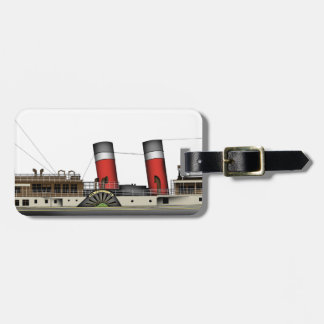 Etiqueta De Bagagem O navio a vapor de pá Waverley por Tony Fernandes