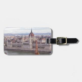 Etiqueta De Bagagem O parlamento húngaro Budapest em o dia