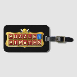 Etiqueta De Bagagem O quebra-cabeça pirateia o Tag da bagagem
