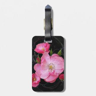 Etiqueta De Bagagem o rosebud minúsculo abre