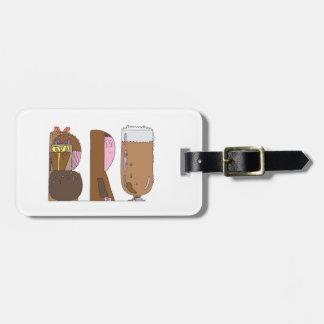 Etiqueta De Bagagem O Tag   BRUXELAS da bagagem, SEJA (BRU)