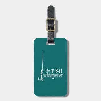 Etiqueta De Bagagem O Whisperer dos peixes