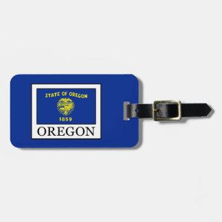 Etiqueta De Bagagem Oregon